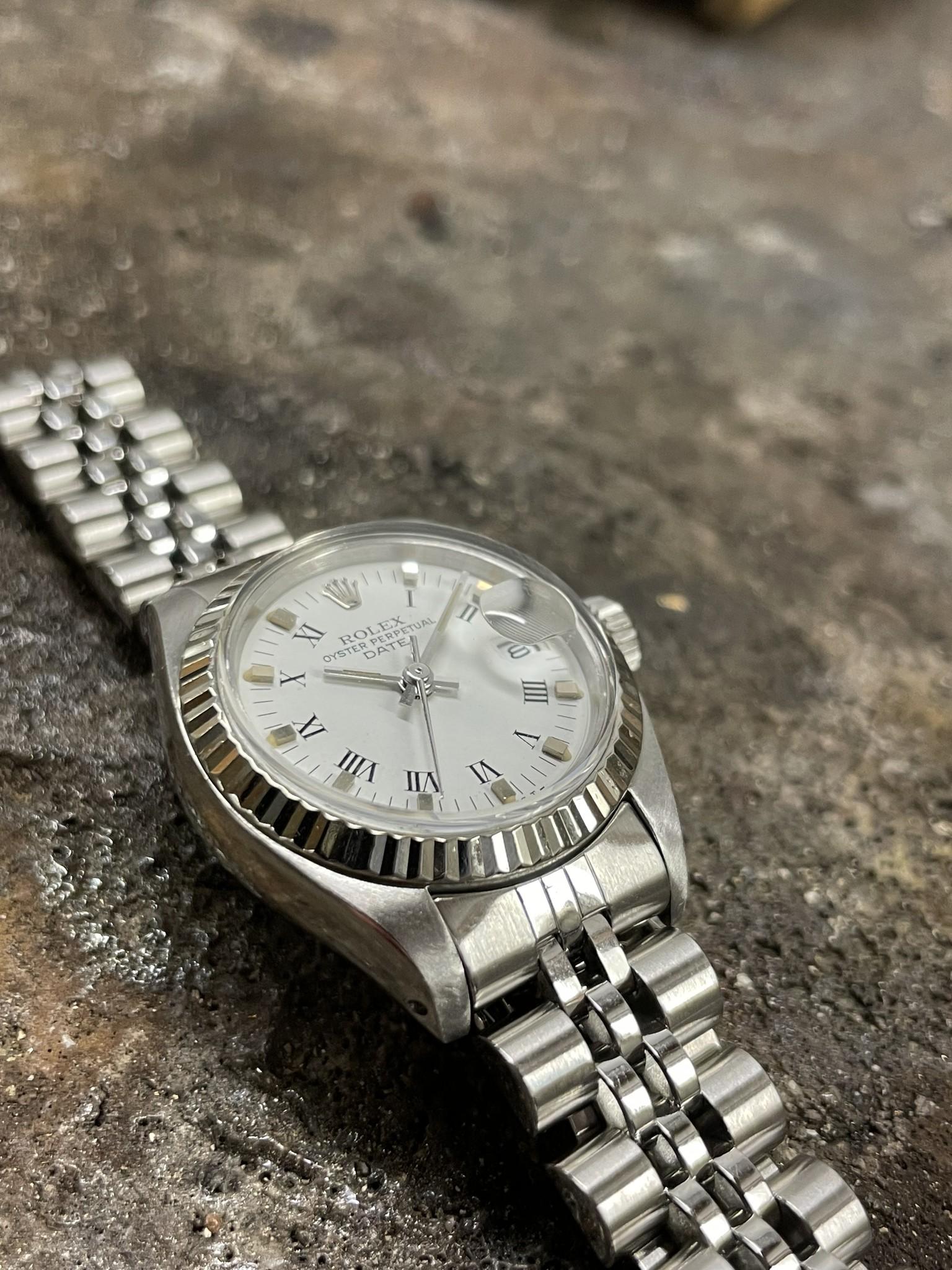 Rolex Datejust -  Dames Horloge - 6917 - White Dial-7