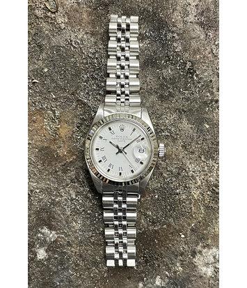 Rolex Datejust -  Dames Horloge - 6917 - White Dial