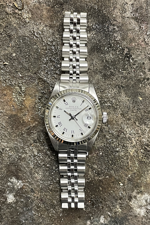 Rolex Datejust -  Dames Horloge - 6917 - White Dial-1