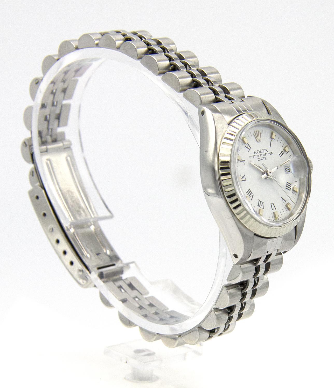 Rolex Datejust -  Dames Horloge - 6917 - White Dial-3