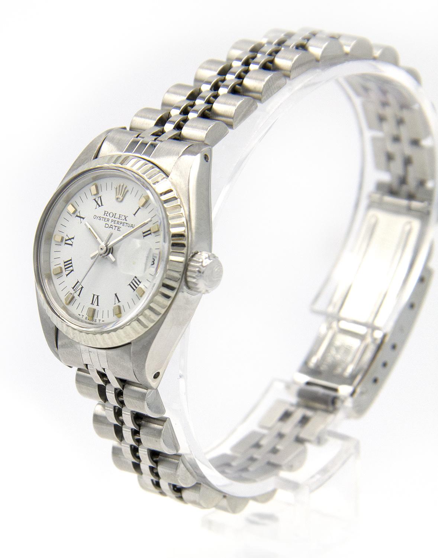 Rolex Datejust -  Dames Horloge - 6917 - White Dial-4