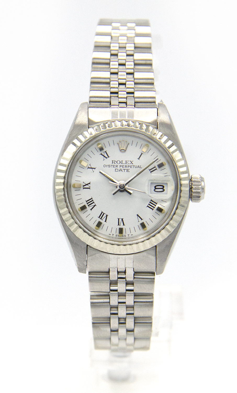 Rolex Datejust -  Dames Horloge - 6917 - White Dial-2