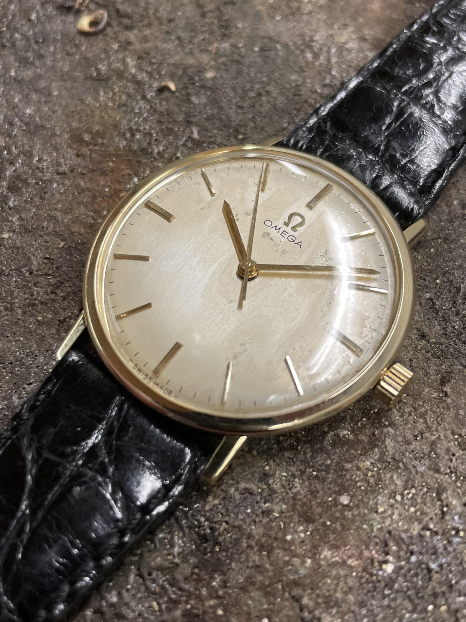 Omega - Horloge Unisex - 131026 - Geelgoud-6
