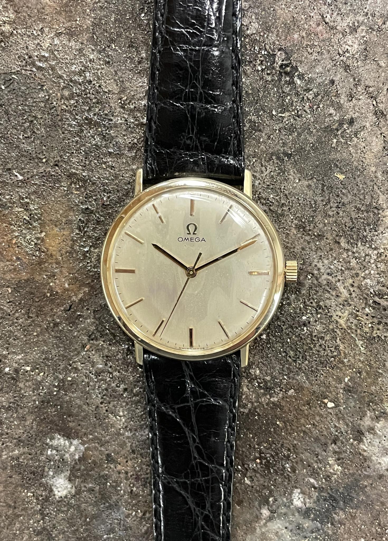 Omega - Horloge Unisex - 131026 - Geelgoud-1