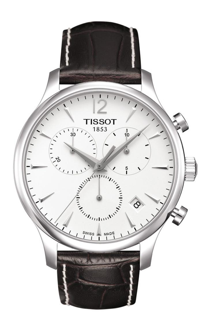 Tissot - Horloge Heren - Tradition - T0636171603700-1