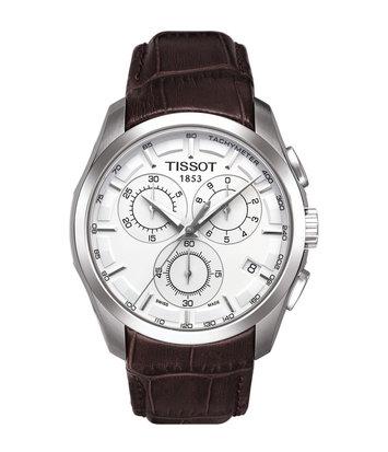 Tissot - Horloge Heren - Couturier Chronograph - T0356171603100