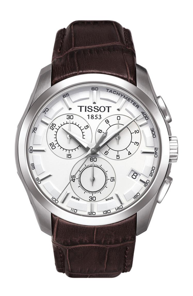 Tissot - Horloge Heren - Couturier Chronograph - T0356171603100-1