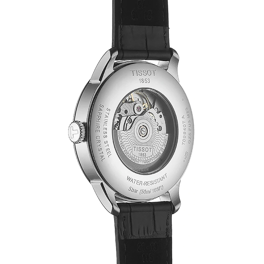 Tissot - Horloge Heren - T-Classic - Chemin des Tourelles - T0994071605800-2