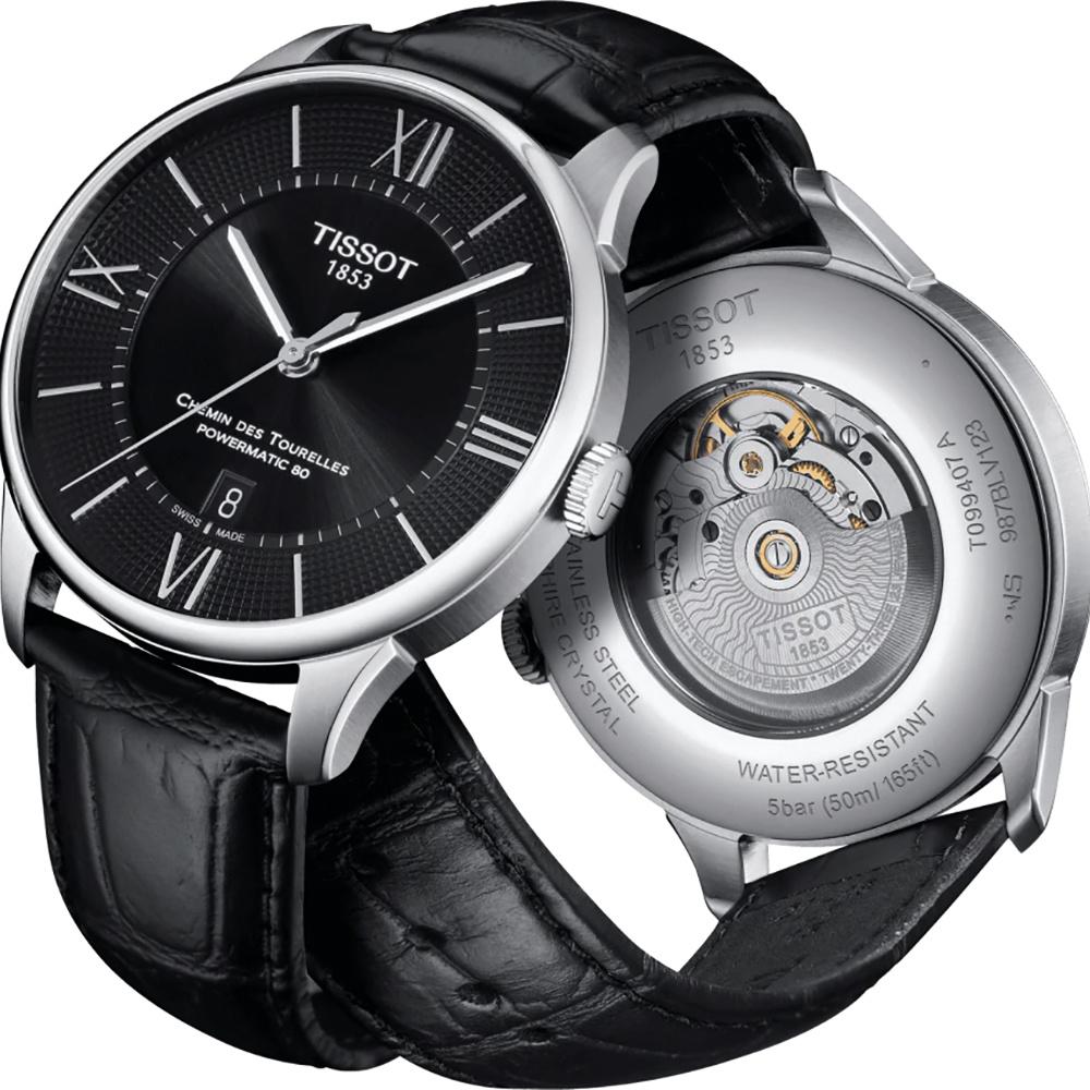 Tissot - Horloge Heren - T-Classic - Chemin des Tourelles - T0994071605800-7