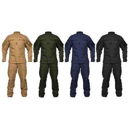 Combinaison ACU (pantalon + haut) en coton rip-stop résistant