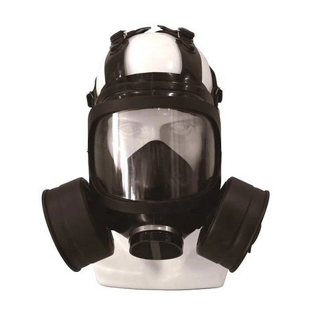 Gas- & protection mask F15A Filter Side (double)