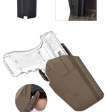 Glock holster strap system 19/17 Professional right finger release