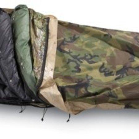 Sleeping Bag 4 Season System Camouflage (Woodland)