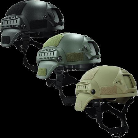 Mich200 Casque de protection balistique, classe de protection 3A à 44