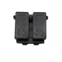 Double Mag Pouch, 9MM, Belt