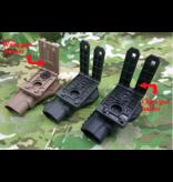 Glock Holster Strap System 19/17 Dégagement professionnel de l'index droit