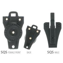 KC SQS Removable System für KC Holster (Male & Female Part) Schwarz