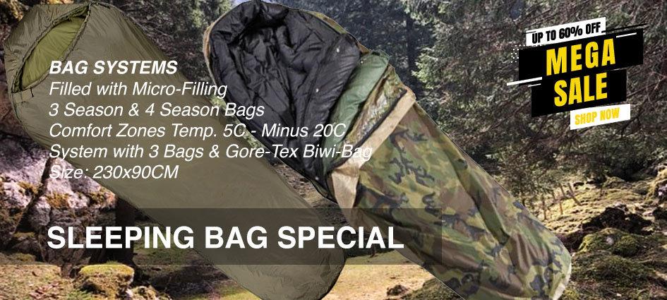 Sleeping Bags Special EN