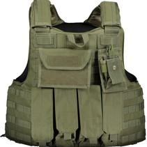 Gilet de protection balistique Mil 3A - Niveau 2 de protection contre les coups de poignard et les piques (gilet apparent)