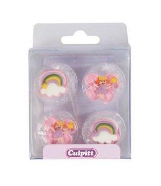 Culpitt Culpitt suikerdecoraties fairy 12 stuks