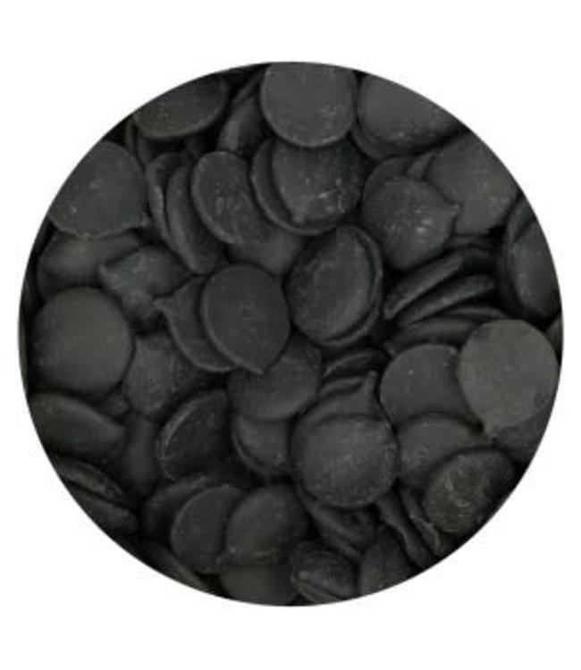Funcakes Funcakes deco melts drip zwart 250 gr.