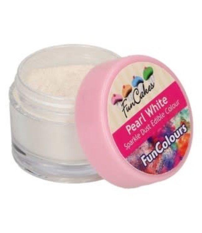 Funcakes Funcakes Sparkle dust edible pearl white