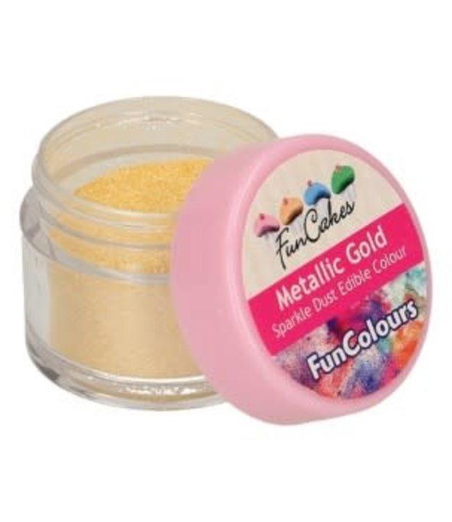 Funcakes Funcakes Sparkle dust edible metallic gold