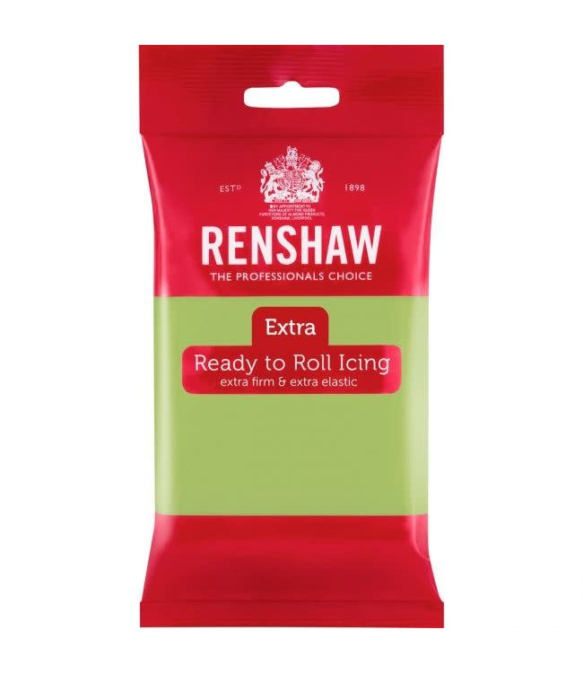 Renshaw Renshaw fondant pastelgroen 250 gr.
