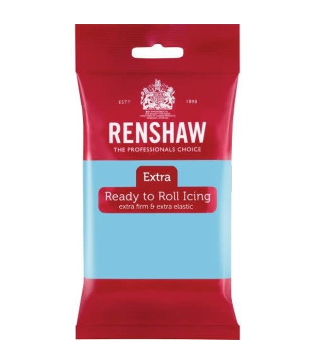 Renshaw Renshaw fondant baby blauw 250 gr.