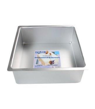 PME PME taartvorm vierkant 25 h10 cm aluminium