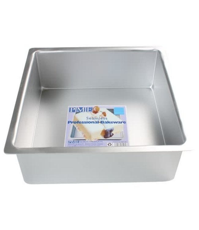 PME PME taartvorm vierkant 35 h10 cm aluminium (kleine beschadiging)