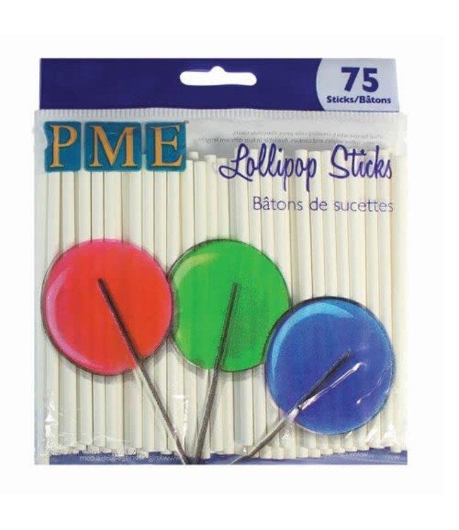 PME PME Lollipop sticks 9.5 cm 75 st.