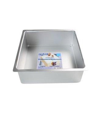 PME PME taartvorm aluminium vierkant 10 h10 cm