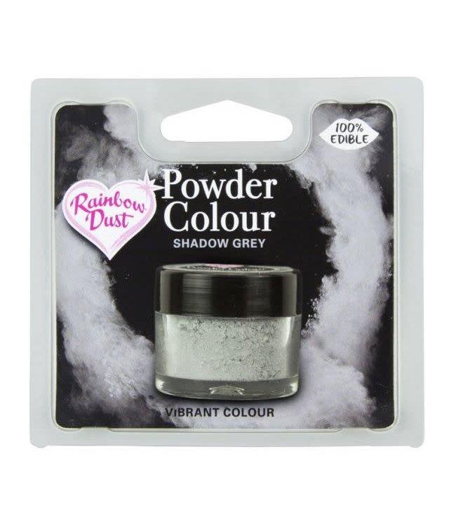 Rainbowdust Rainbowdust edible dust shadow grijs 5 gr.