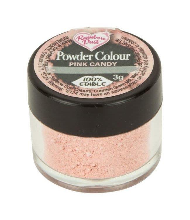 Rainbowdust Rainbowdust edible dust roze 5 gr.