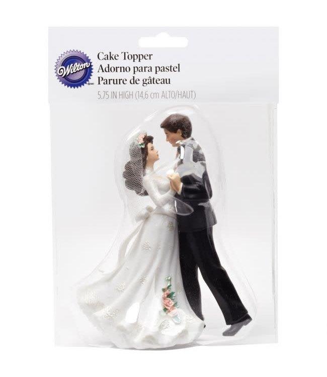 Wilton Wilton Cake Topper bruidspaar smoking