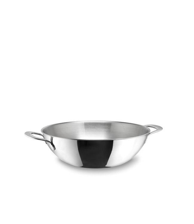 Habonne Avance wok 2 grepen 30 cm rvs