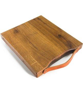 Twents Hout Twents hout snijplank groot food safe 35x30x3 cm