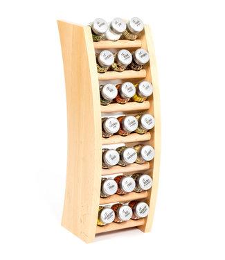 Gosia kruidenrek naturel 21 pots 3x7