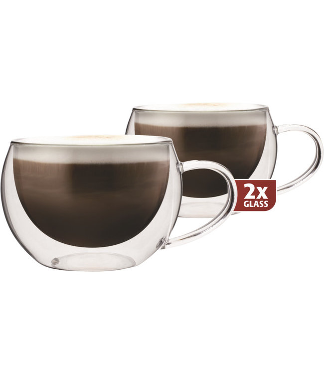 Maxxo Maxxo thermo glass cappuccino 300 ml
