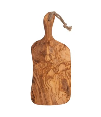 Pure Olive Wood Pure Olive Wood serveerplank handvat XL 45-50 cm