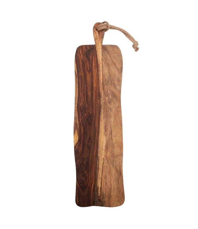 Pure Rose Wood Pure Rose Wood serveerplank rustiek handvat 69 cm