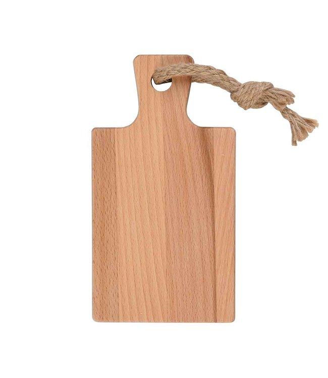 Puur hout Puur Hout beuken amuseplank 20.5 x 11 cm