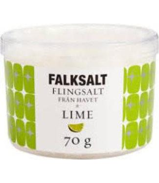 Falksalt Falksalt crystal flakes lime 70 gr.