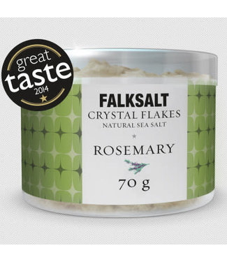 Falksalt Falksalt crystal flakes rozemarijn