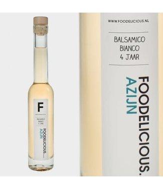 Foodelicious Foodelicious balsamico bianco 4 jr. 225 ml