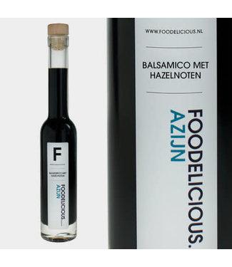 Foodelicious Foodelicious balsamico hazelnoten 9 jr. 225ml