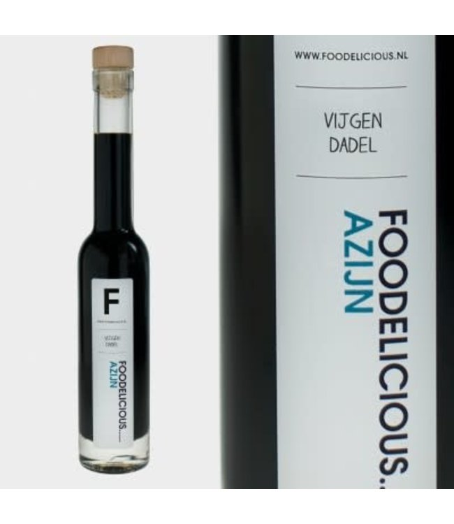 Foodelicious balsamico vijgen-dadel 225 ml