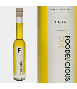 Foodelicious Foodelicious citroen olie 225ml