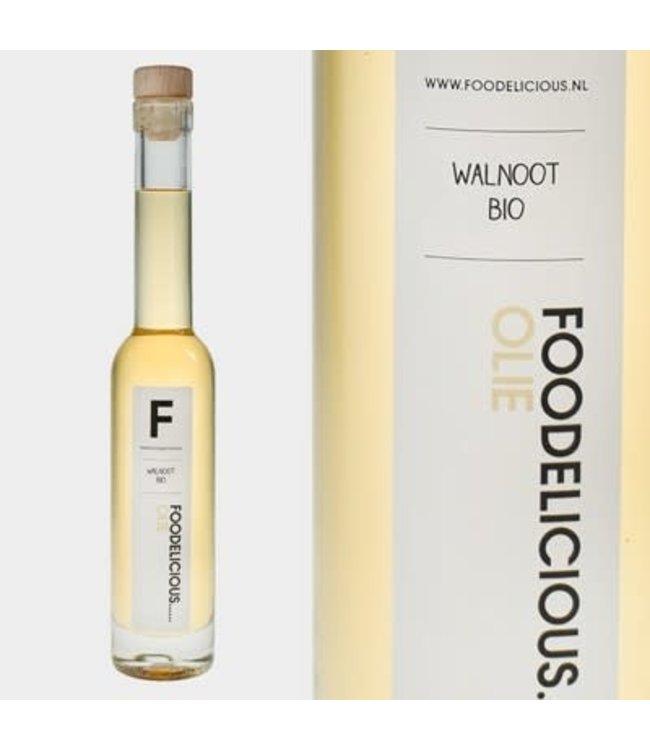 Foodelicious Foodelicious walnoot olie 225ml